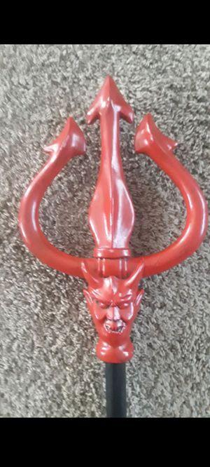 "Halloween costume accessory, devil pitchfork . 42.5"" for Sale in San Antonio, TX"