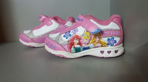 Toddler girl light up Disney princess shoes for Sale in Los Angeles, CA