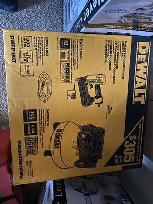 Nail Gun and Air Compressor for Sale in Upper Marlboro, MD