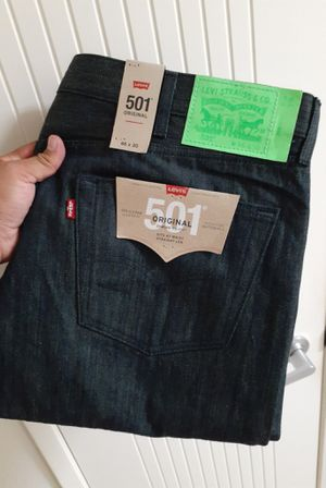 Levi's Original 501 Shrink-To-Fit Button Fly Jeans for Sale in Chula Vista, CA
