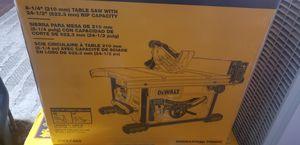 Dewalt Table Saw DWE7485 for Sale in South San Francisco, CA