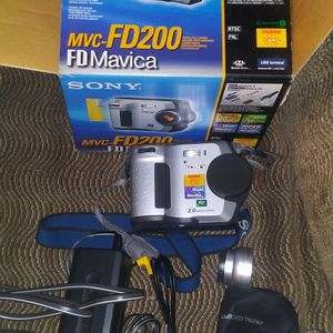 Sony Digital Camera MVC FD200 for Sale in Vancouver, WA