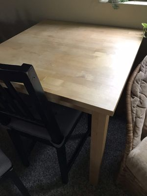 Solid wood kitchen table for Sale in Washington, DC
