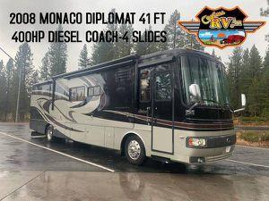 2008 Monaco Diplomat Diesel Coach 41ft -400hp-4 slides-low miles for Sale in Montesano, WA