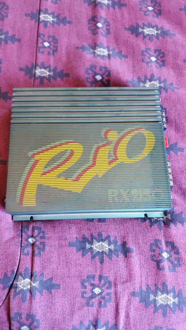 Rio RX 2150 car amp