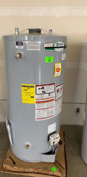 New AO SMITH 74 gallon WATER HEATER WITH WARRANTY NFD for Sale in Dallas, TX
