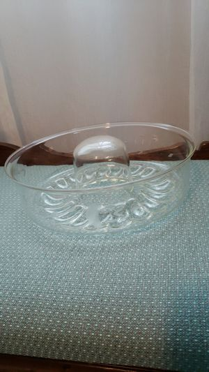 Princess House crystal bundt pan for Sale in Alvaton, KY