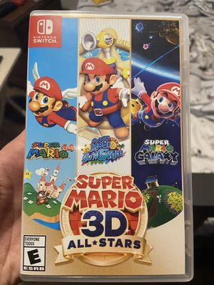 Super Mario 3D All Stars - Nintendo Switch for Sale in Miami, FL