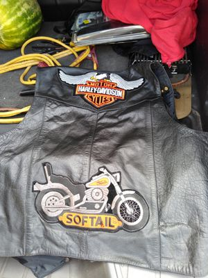 Leather Motorcycle Vest for Sale in Spring Hill, FL