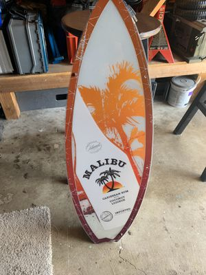 Malibu light up bar sign for Sale in San Diego, CA