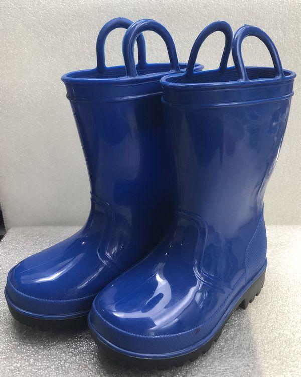 Splash Kids Blue Rain Boots Toddler Size 6