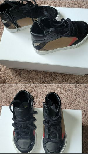 Burberry kids shoes size 26/9.5 for Sale in Silver Spring, MD