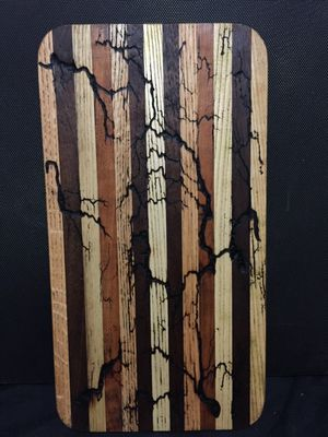 fractal burnt cutting boards for Sale in Buckhannon, WV