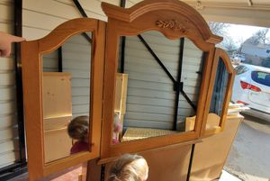 8 drawer dresser with mirror for Sale in Littleton, CO