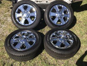 2019 Toyota Tundra 20 inch wheels Takeoffs for Sale in Austin, TX