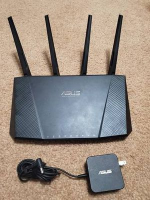 ASUS RT-AC87U Wireless AC2400 Dual Band Gigabit Gaming Router-$75 for Sale in Murphy, TX