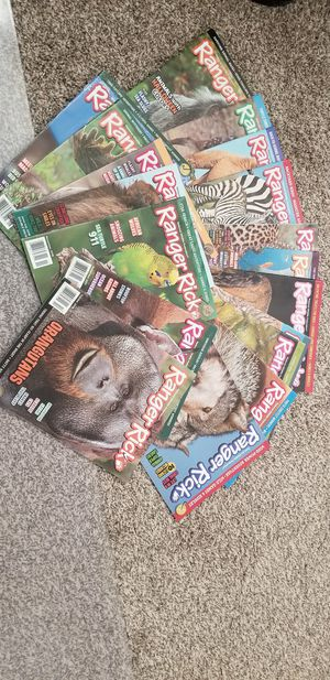 Ranger Rick Magazine for Kids for Sale in Rancho Cucamonga, CA
