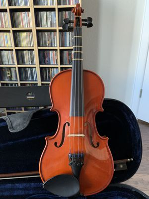 1/2 Size Violin w/ Bow and Case for Sale in Georgetown, TX