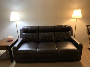 Pure Leather Recliner in very good condition for Sale in Fremont, CA