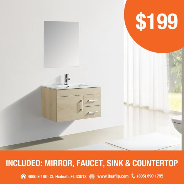 Bathroom vanity sets NEW from $199 for Sale in Hialeah, FL ...