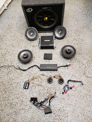 Alpine/Kicker Stereo System for Sale in Hazlet, NJ