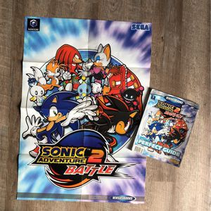 Sonic Official Guide Book 2 In 1 With Poster for Sale in Orange, CA