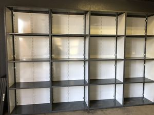 USED Steel Shelving. DELIVERY and INSTALLATION AVAILABLE for Sale in Winchester, VA