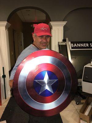 Captain America Fun shield for Sale in Woodstock, GA