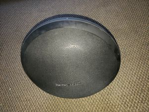 Harman/Kardon Onyx Studio Wireless Bluetooth Speaker Sub-woofer System (Black) & charger ask $59 for Sale in Pomona, CA