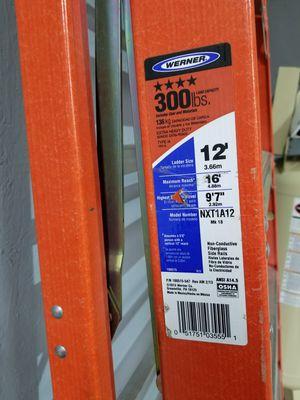 12' 300# ladder, used once for Sale in Lovettsville, VA