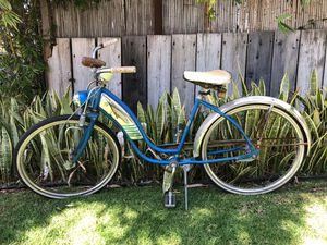Vintage 1959 Roadmaster girls bicycle beach cruiser bike for Sale in Los Angeles, CA