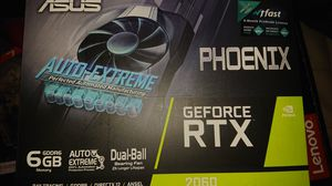 Asus Rtx 2060 6GB graphics card for Sale in Universal City, TX