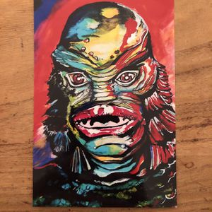 Creature From The Black Lagoon Horror Art Print for Sale in Largo, FL