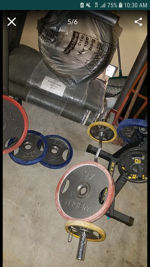 Weights, bench, treadmill for Sale in North Las Vegas, NV