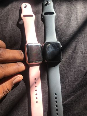Series 3 Apple Watch !! Both u locked for Sale in Indianapolis, IN