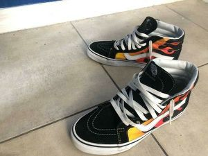 Limited Edition Fire Red VANS for Sale in Hialeah, FL