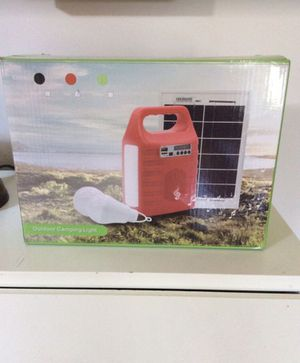 Emergency portable solar powered fm generator for Sale in NJ, US