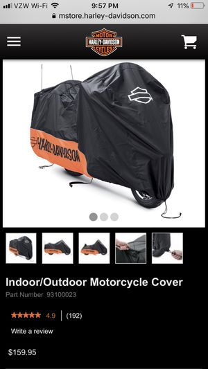Indoor/Outdoor Harley Bike Cover (cost $159.99) for Sale in Mokena, IL