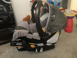 chicco infant car seat and base for Sale in Alameda, CA