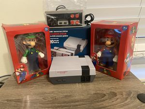 Mario and Luigi + Retro console mini Nintendo built in 629 Classic games Arcade Family games SHIPPING AVAILABLE for Sale in Hollywood, FL
