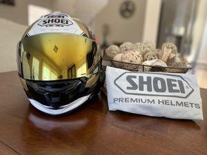 Shoei X-14 Marquez Motegi 2 TC-1 MotoGP Racing Motorcycle Helmet Size L w/Sena 30K & Gold Visor in MINT Condition for Sale in Las Vegas, NV