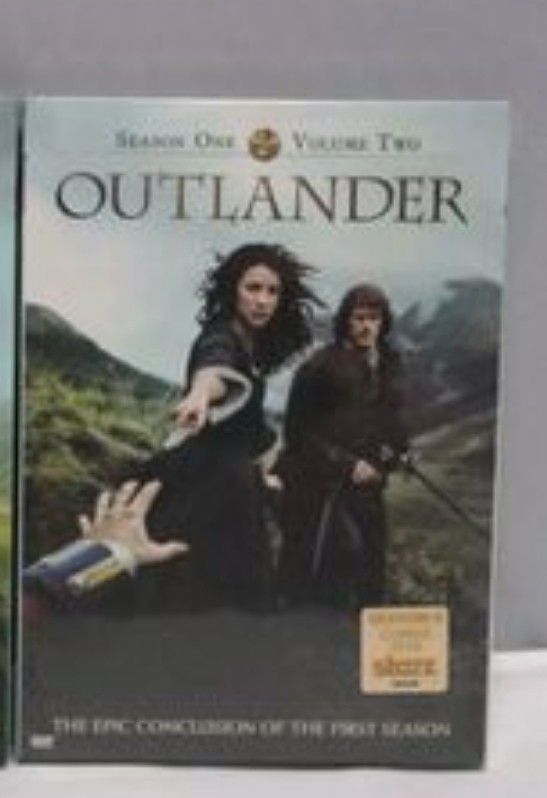OUTLANDER SEASONS 1 VOLUME 2 ONLY!!