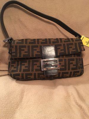 Fendi Zucca shoulder bag for Sale in Aston, PA