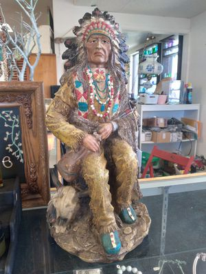 Detailed Native American statue for Sale in Oceanside, CA