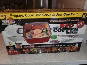 "Brand New Unopened 10"" Red Copper Square Pan for Sale in Chula Vista, CA"