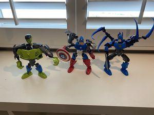 LEGO Incredible Hulk, Captain America, Batman Figurine for Sale in Phoenix, AZ