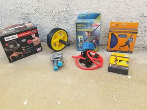 Barely Used At Home Gym Workout Equipment Bundle for Sale in Lomita, CA