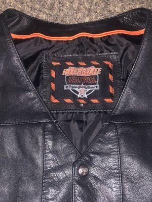 Interstate leather vest for Sale in Las Vegas, NV