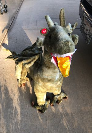 Cloth Play dragon ( little kids can sit on it!) MAKE OFFER or FREE! for Sale in San Diego, CA