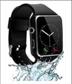 Black and silver smart watch with camera for Sale in Nashville, TN